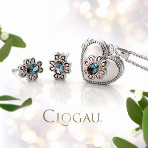 Clogau Two Queens Blue Topaz Earrings 3SALWSE