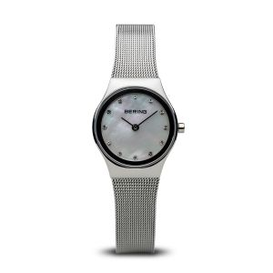 Bering Ladies Polished Silver Classic Watch 12924-000