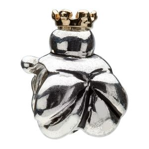 Chamilia Queen Bee Bracelet Charm - Sterling Silver and 14k Gold