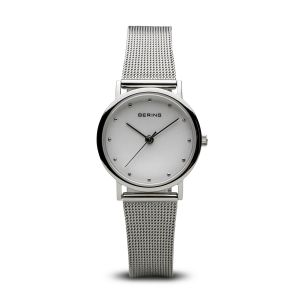 Bering Ladies Watch Classic Polished Silver