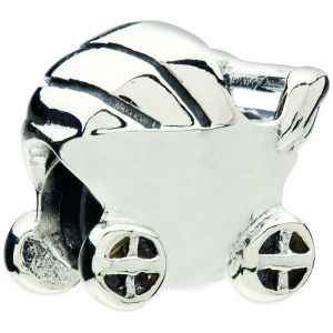 Chamilia Baby Carriage Bracelet Charm - Sterling Silver