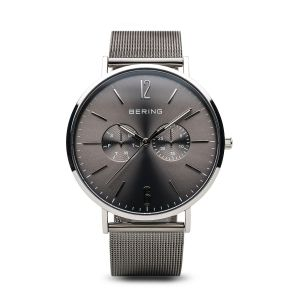 Bering Mens Classic Milano Grey Watch