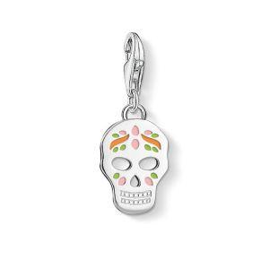 Thomas Sabo Charm Pendant - Mexican Skull