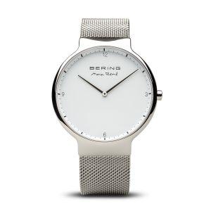 Bering Men's Max Rene Stainless Steel Mesh Strap Watch