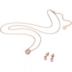 Swarovski Millenia Octagon Set - Rose Gold Plated 5620548