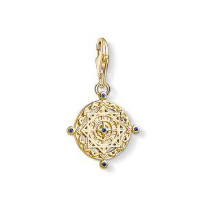 Thomas Sabo Charm Pendant - Gold Vintage Compass 1662-922-39