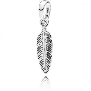 Pandora Single Feather Pendant