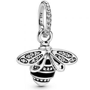 Pandora Sparkling Queen Bee Pendant 398840c01