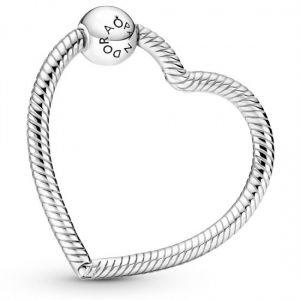 Pandora Moments Heart Charm Holder-399505C00