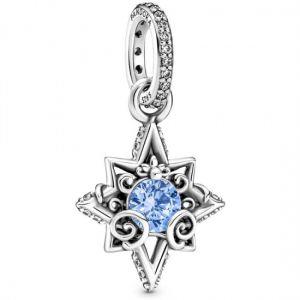 Pandora Disney Cinderella Blue Star Pendant-399560C01