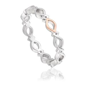 Clogau Affinity Stacking Ring - Size O