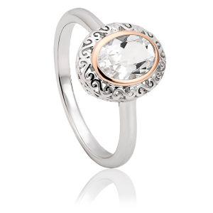 Clogau Looking Glass Ring 3SALWR3