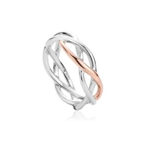 Clogau Eternal Love Weave Ring 3SCMG54