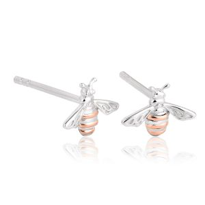 Clogau Honey Bee Stud Earrings 3SQNBE