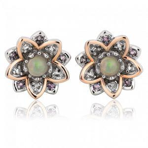 Clogau Lotus Earrings 3SLTUSE