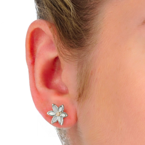 Clogau Lady Snowdon Stud Earrings - 3SNLE