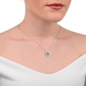 Clogau Tudor Court Mother of Pearl Necklace 3STDCBN