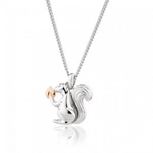 Clogau Tree Of Life Touchwood Squirrel Pendant 3STWSP