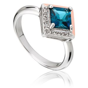 Clogau Kensington Love Story Ring 3SVAR