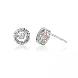 Clogau National Treasures Swarovski Topaz Stud Earrings - 3SWDDE1