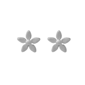 byBiehl Forget Me Not Silver Earrings 4-003-R