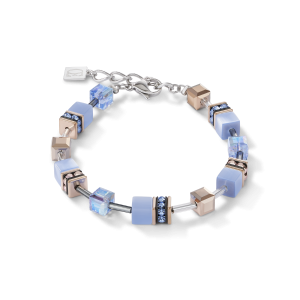 Coeur De Lion GeoCUBE Bracelet - Light Blue 4016300720