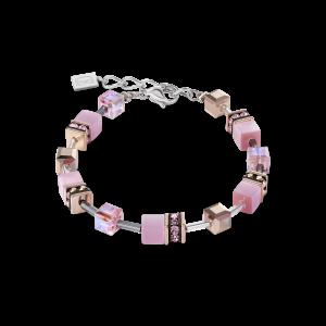 Coeur De Lion GeoCUBE Bracelet - Light Rose 4016301920