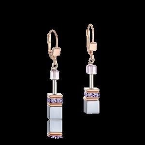 Coeur De Lion  GeoCUBE Earrings Lilac 4017200829