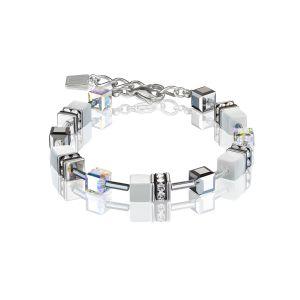 Coeur De Lion White GEOCUBE Bracelet