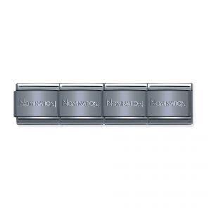 Nominations Composable Classic branded Coloured Base Bracelet - 030001_SI_046