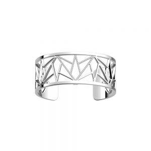 Les Georgettes Alexandrie Bracelet - 25mm Silver and Zirconia