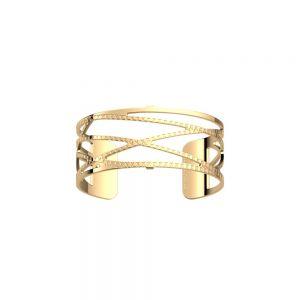 Les Georgettes Alexandrie Bracelet - 25mm Gold Finish