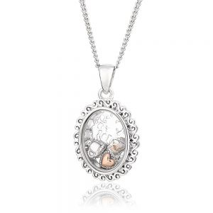 Clogau Looking Glass Inner Charm Pendant