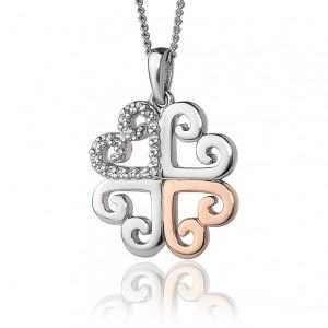 Clogau Affinity Heart Pendant 3SEHP