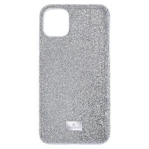 Swarovski High Smartphone Case - iPhone 12 Pro Max in  Silver Tone 5565184