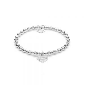 Annie Haak Mini Orchid Silver Charm Bracelet - Fabulous Girlfriend