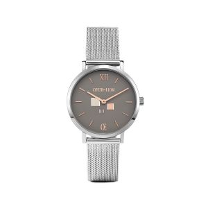 Coeur De Lion Watch - Cool Grey with Milanese Strap 7600701724