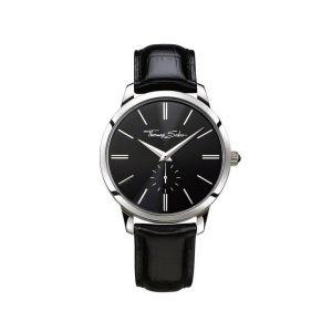 Thomas Sabo Men's Rebel Spirit Watch - Black Leather Strap WA0150-218-203