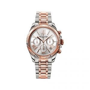 Thomas Sabo Divine Chrono Watch - Silver and Rose WA0221-272-201