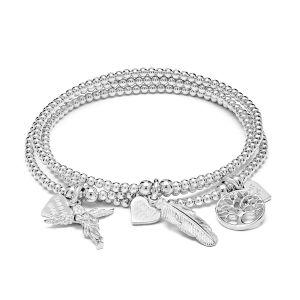 Annie Haak Bliss Silver Bracelet Stack