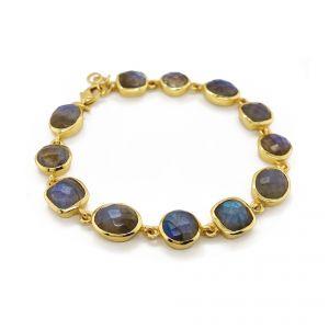 Sarah Alexander Babylon Labradorite Gold Bracelet
