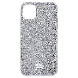 Swarovski High Smartphone Case - iPhone 12 mini - Silver Tone