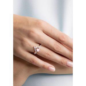 Swarovski One Ring Set, Multi-Coloured, Rose Gold Plating 5474937, 5446302, 5474939