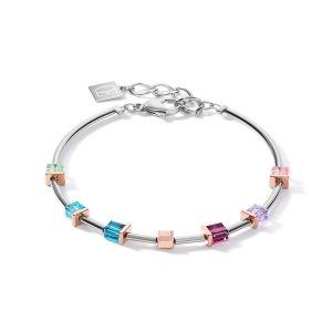 Coeur De Lion GeoCUBE Bracelet - Multicolour Art Nouveau 5062301578