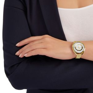 Swarovski_Crystalline_Oval_Gold_Metal_Watch
