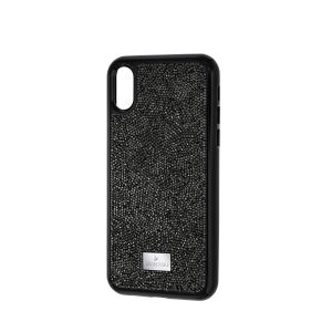 Swarovski Glam Rock Smartphone Case with integrated Bumper, iPhone® X, Black