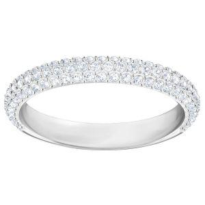 Swarovski Stone Ring, White, Rhodium Plating 5402437, 5402437, 5402438