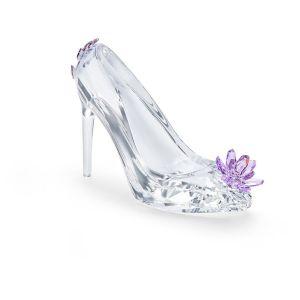 Swarovski Crystal Shoe with Flower