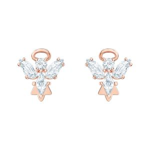 Swarovski Magic Angel Stud Earrings - Rose Gold Plating