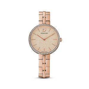 Swarovski Cosmopolitan Watch Metal Bracelet Pink - Rose Gold PVD
